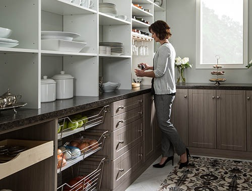custom built organized pantry - Organize by Design AZ