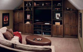 Custom designed home entertainment