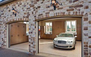 custom designed garage storage