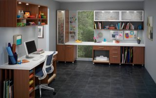 Custom designed craft studio/area
