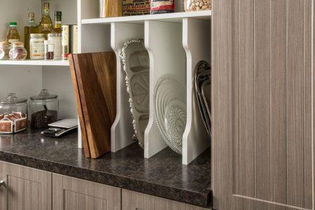 custom designed kitchen pantry