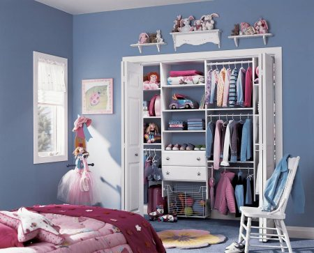 Custom designed home closets